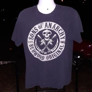 Sons of Anarchy Redwood Originals T shirt size LG